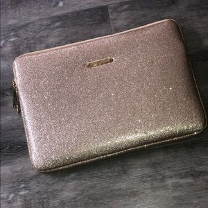 Juicy Couture glitter laptop case ✨